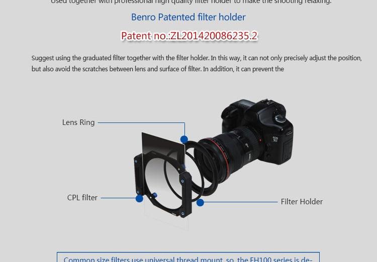 BENRO 170mm Filter 15