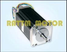Best Sell! free shipping CNC Nema 23 Stepper Motor 57BYGH112 425oz-in 112mm 3A CE ROHS ISO 3D Printer Robot Foam Plastic Metal