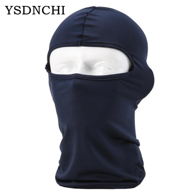 New Arrived Beanies Balaclava Mask Windproof Cotton Full Face Skullies Neck Guard Beanies Headgear Riding Outdoor Sports Masks protective outdoor war game military skull half face shield mask black