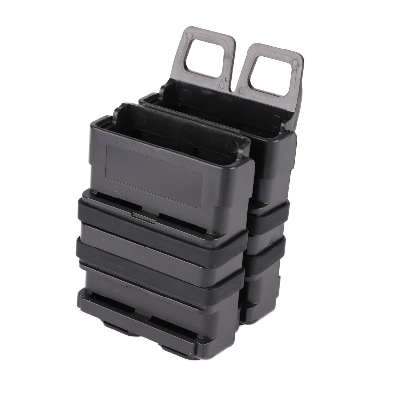 Tactical 5.56 version of FAST MAG quick pull M4 Magazine Pouch Outdoor module combination two sets for hunting Airsoft waregame