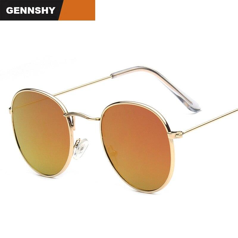 2017 gafas de sol redondas mujeres retro diseñador de la marca de - Accesorios para la ropa - foto 2