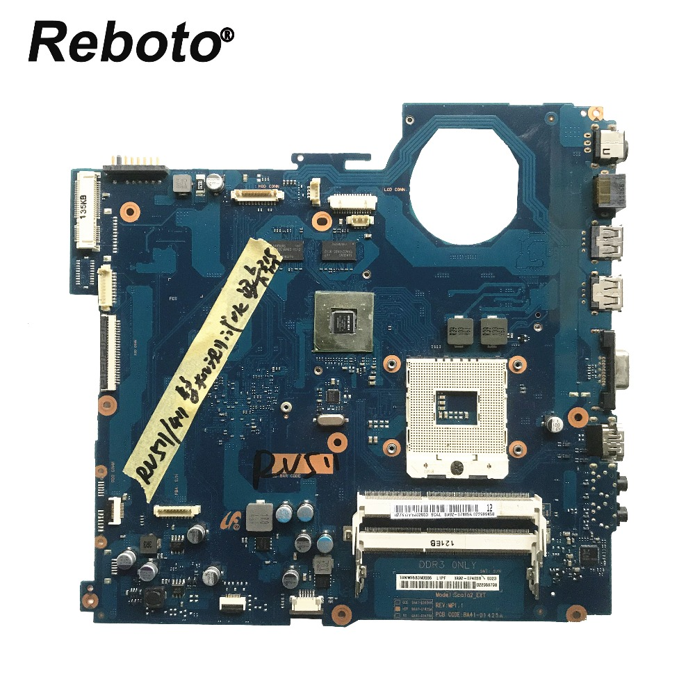 FOR Samsung RV511 Laptop Motherboard With GeForce 315M 1GB GPU BA92 07405A BA92 07405B BA41 01425A