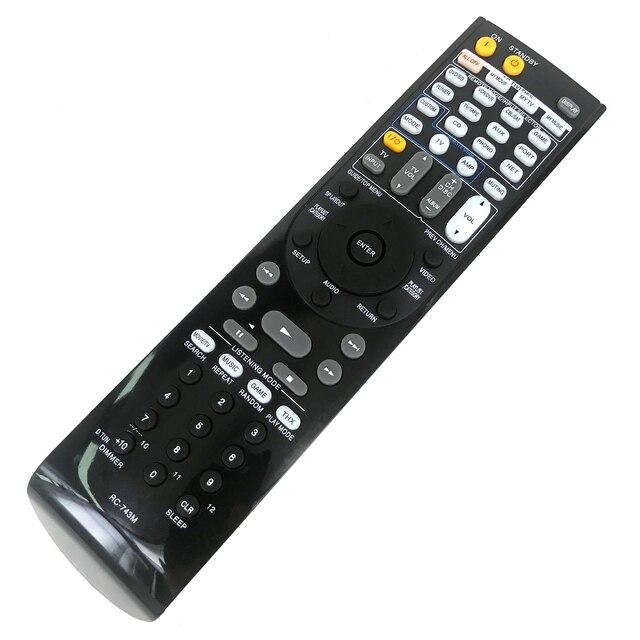 Nova substituição RC 743M para onkyo av receptor de vídeo áudio controle remoto fernbedienung