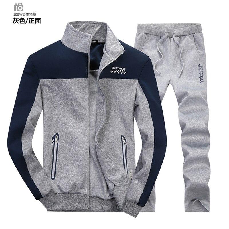 ФОТО Sportwear men Sport Suit Outdoor Couple Sports Wear Autumn Long Sleeve Sweatshirts Size M-3XL Running Sets Free Shipping