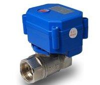 送料無料3/4 'cwx-15q/n ミニ電動ボール バルブ ステンレス鋼cr01 、 cr02 または cr05制御タイプ 3 〜 6 ボルト/12 ボルト 3 ピー