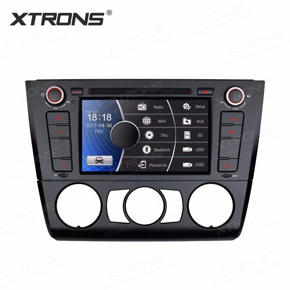 7 pouces HD numérique écran tactile double CANbus GPS Navigation volant 1din voiture lecteur DVD pour BMW 1 série E81 E82 E88