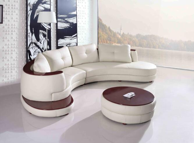 US $1168.0 |Moderno divano in pelle con forma di l divano ad angolo per  soggiorno divani-in Divani da soggiorno da Mobili su AliExpress