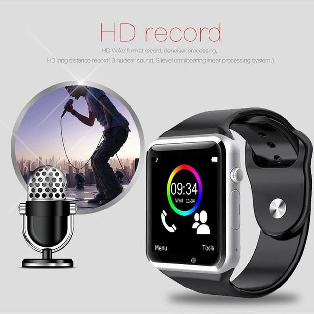 Bluetooth Wireless Speaker Sport Pedometer Smart Watch 3