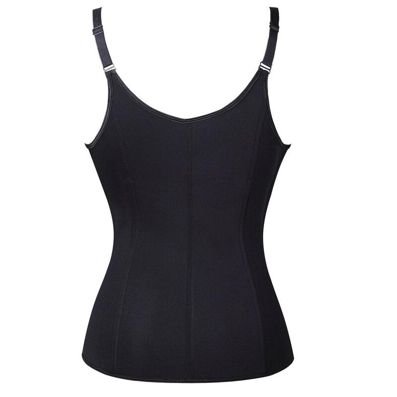 Neoprene Sauna Vest Waist Trainer Cincher Women Body Slimming Trimmer Corset Workout Thermo Push Up