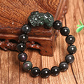 A genuine natural Rainbow Obsidian Bracelet brave men and women lucky evil jewelry wholesale supply