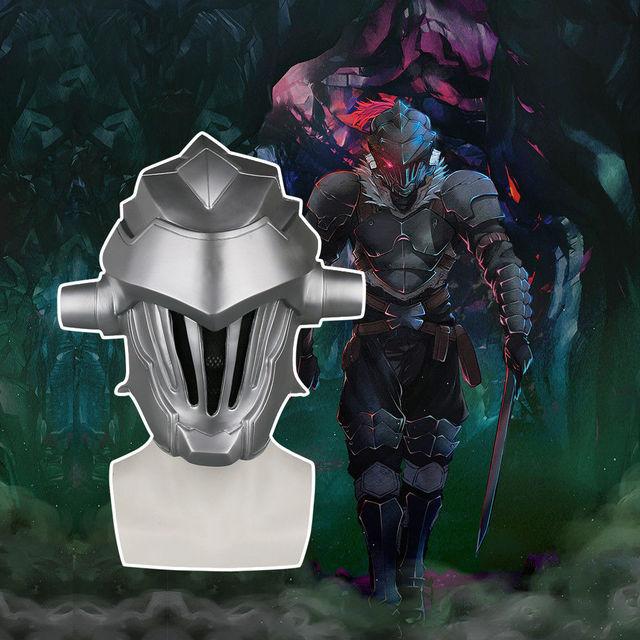 2018 anime goblin slayer mask cosplay halloween goblin slayer helmet mask props