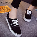 New Men Canvas Shoes Lace up Fashion brand casual shoes Flats Solid Men Breathable shoes man Drop Shipping ST40