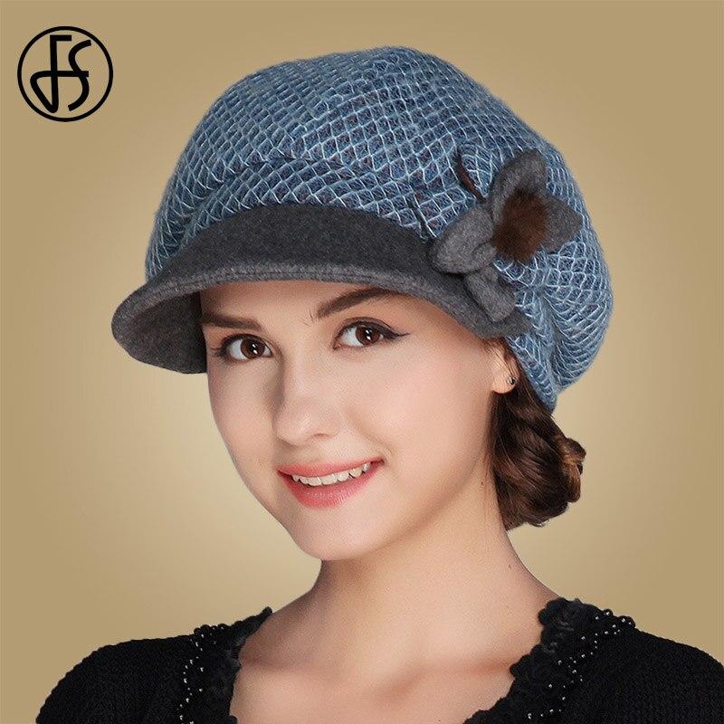 Lolita girls beanie women's painter hat cross embroidery beret cap