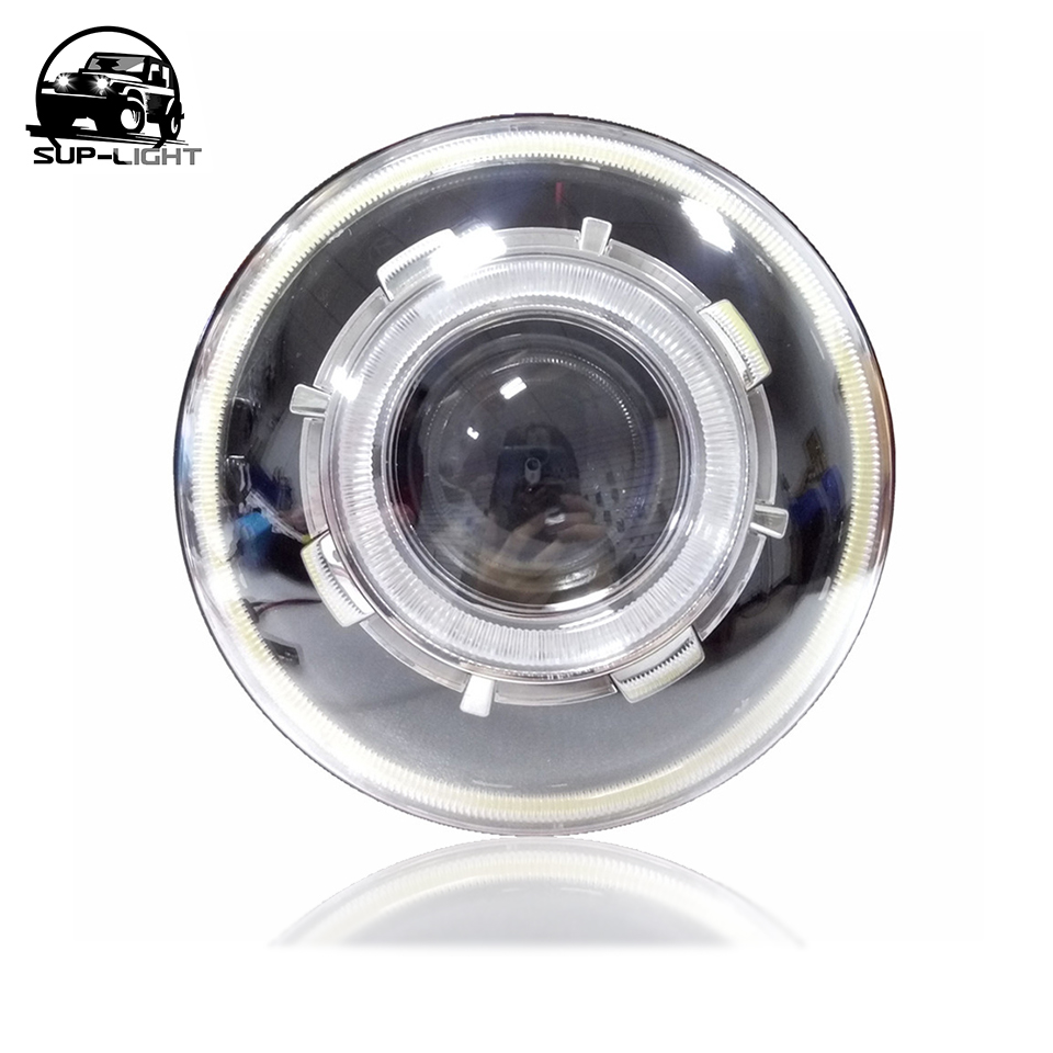 Selfless Motorcycle Dc 12v 35w Ba20d Headlight Halogen Xenon Bulb White Light High Standard In Quality And Hygiene Home
