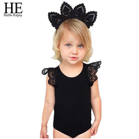 Hello Enjoy Baby Rompers Fashion Summer Brand Baby Clothes Sleeveless Lace Baby Girl Clothes Newborn Baby