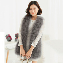 Free Shipping Hot Brand Ladies Fur Vest Sleeveless Outwear Women Winter Warm Fur Coat Vintage Faux Fur Vests For Women