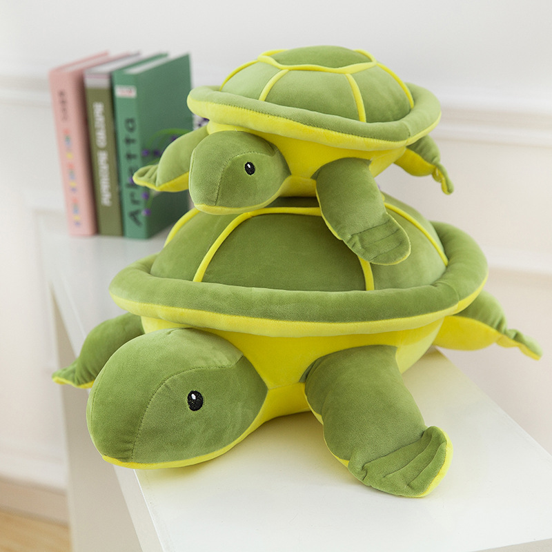Kawaii Plush Tortoise Toy For Children Cute Turtle Plush Pillow Staffed Cushion for Girls Vanlentines Day Gift 1pc 40cm Pusheen