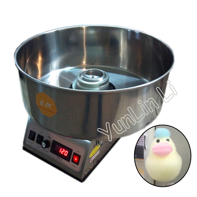 Commercial Cotton Candy Machine Cotton Sugar Floss Making Stainless Steel Electric DIY Candy Cotton Maker CC-3803HCommercial Cotton Candy Machine Cotton Sugar Floss Making Stainless Steel Electric DIY Candy Cotton Maker CC-3803H