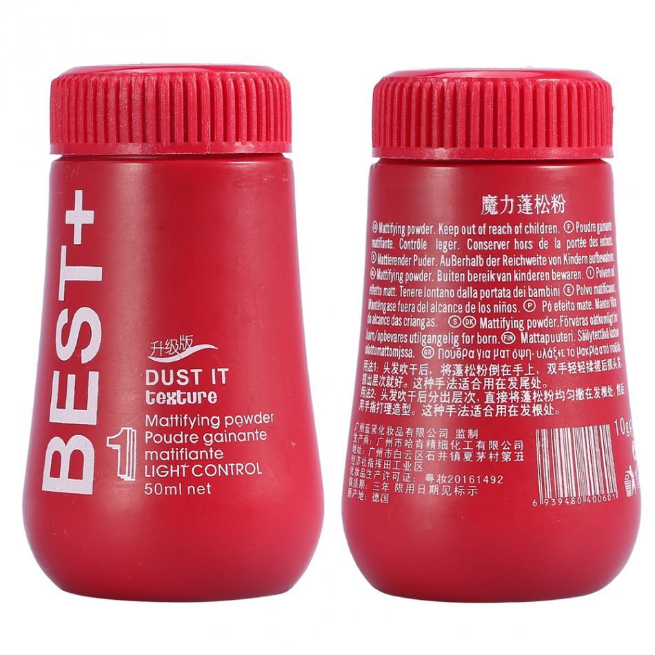 1 יחידות פלאפי דק שיער אבקת אבק ספריי לשיער עליות שיער נפח לוכד תספורת יוניסקס דוגמנות סטיילינג כלים שיער אבקה