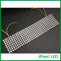 저렴 한 가격 우수한 빛 프로그래밍 가능한 8x32 led 매트릭스  풀 컬러 led 도트 매트릭스 5 v 256 leds/pcs