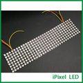 Cheap preço excelente luz programável 8x32 matriz de led, full color dot matrix led 5 V 256 leds/pcs