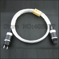 DHL Бесплатная доставка hiif Nordost Odin Верховный Ссылка Мощность кабель шнур 2 м США Plug/EU разъем аудио Мощность кабель