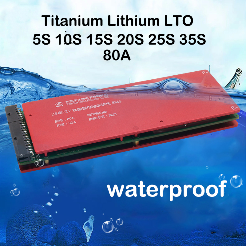 35S 30S 25S 20S 15S 10S 5S LTO Lithium Titanate Battery Protection Board Balance 2 4V