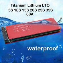 35S 30S 25S 20S 15S 10S 5S LTO Lithium Titanate Battery Protection Board Balance 2.4V 80A Circuit BMS PCM 12V 72V 60V Cell Pack