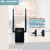 COMFAST WR302S 300Mbps 5dBiX2 Antenna Wireless N Wifi Router AP Repeater Amplifier IEEE 802 11 B