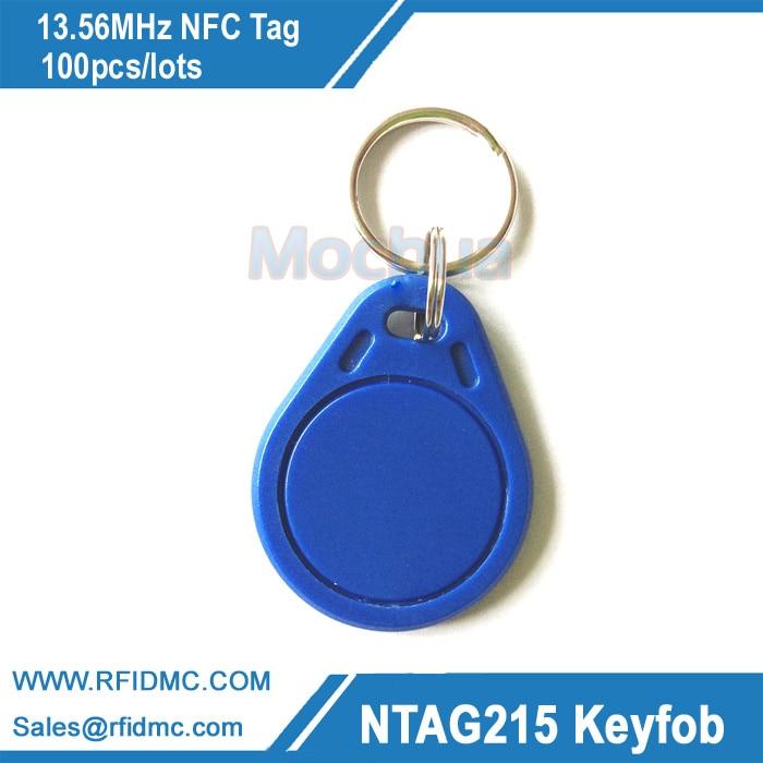 13.56MHz NFC Tag Ntag215 key fob NFC Tag For Tagmo