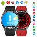 KingWear KW88 смарт смотреть Android 5.1 OS 1.39 дюймов Amoled Экран 3 Г wi-fi Smartwatch Телефон MTK6580 GPS Датчик Силы Тяжести шагомер