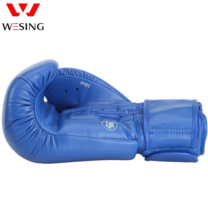 AIBA aprobó guantes de boxeo 10 oz 12 oz hihg quanlity micro guantes - Ropa deportiva y accesorios - foto 6