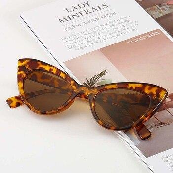 цена на PAMASEN Retro Style Cat Eye Sunglasses Anti-glare Glasses Sunglasses Men Women Driving Sun Glasses For Female UV400