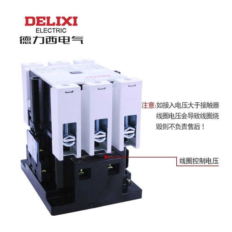 Contacteur dorigine DELIXI AC CJX1-45/22 380 V 220 V 110 V 36 V 24 VContacteur dorigine DELIXI AC CJX1-45/22 380 V 220 V 110 V 36 V 24 V