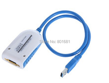 Nouvelle arrivée USB 3.0 vers HDMI Graphique Adaptateur Convertisseur Multi Affichage pour HDTV LCD PC Portable Projecteur 2048*1152 1920*1080 5 Gbps