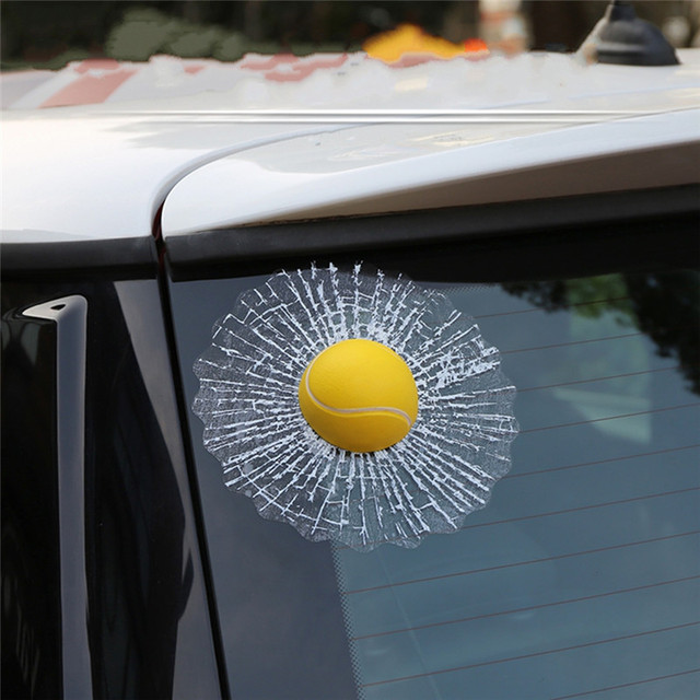 Us 722 15 Off3d Auto Aufkleber Lustige Auto Ball Hits Auto Body Aufkleber Für Daewoo Adventra Evanda Nexia Tosca Auto Styling In 3d Auto