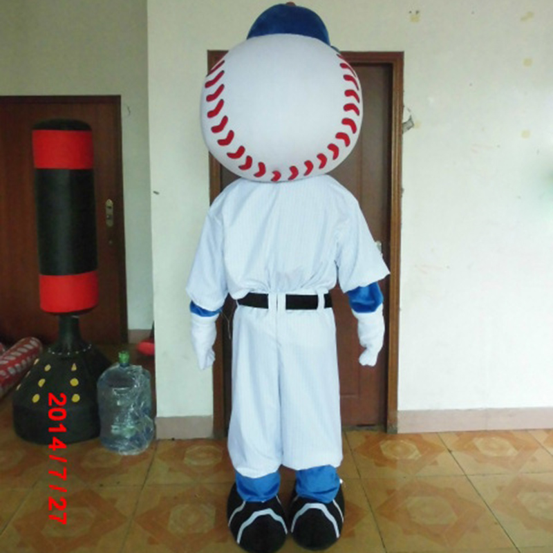 Image 3 - hot sale mr met mascot costume new cartoon boy costumes baseball mascot costumes-in Mascot from Novelty & Special Use