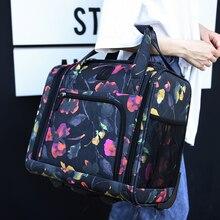 Модная брендовая сумка на колесиках, чемодан на колесиках, Популярная Корейская парусиновая сумка на колесиках, 16 дюймов, оригинальная сумка для путешествий