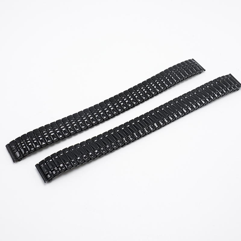 Watchband 14mm Black Flexible Metal Strap 14MM 2020 Watch Bands 14 Watch Women Watchbands, Watch Strap For Watches Relogio FZ026