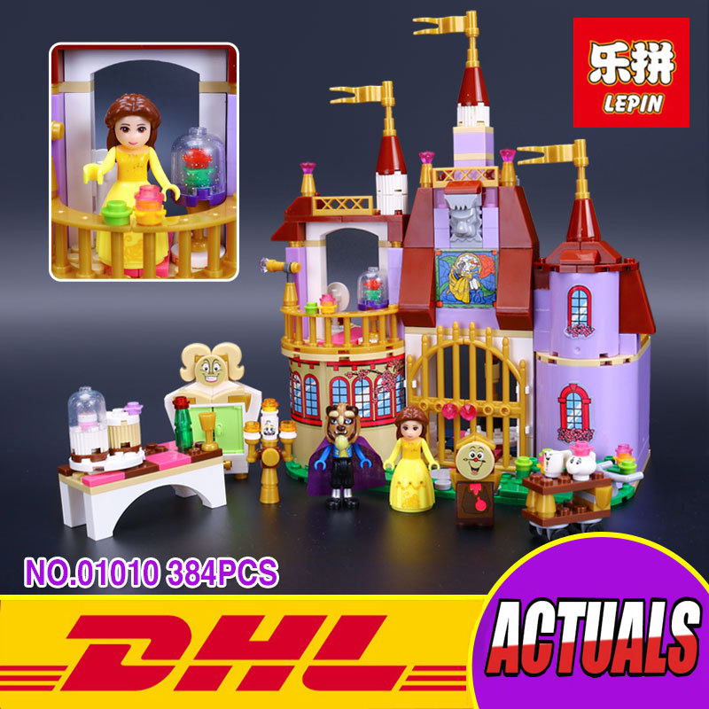 Lepin 01010 384pcs The Princess Bell`s Enchanted Castle Beauty and The Beast Educational Building Blocks Bricks Girl`s Toy 41067 judith dean alladin and the enchanted lamp