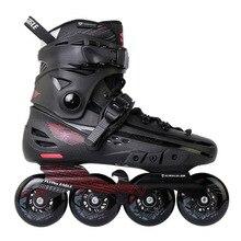 Flying Eagle 100% patin en ligne Falcon, chaussures de patinage à roulettes professionnelles pour adultes, Slalom, de patinage gratuit