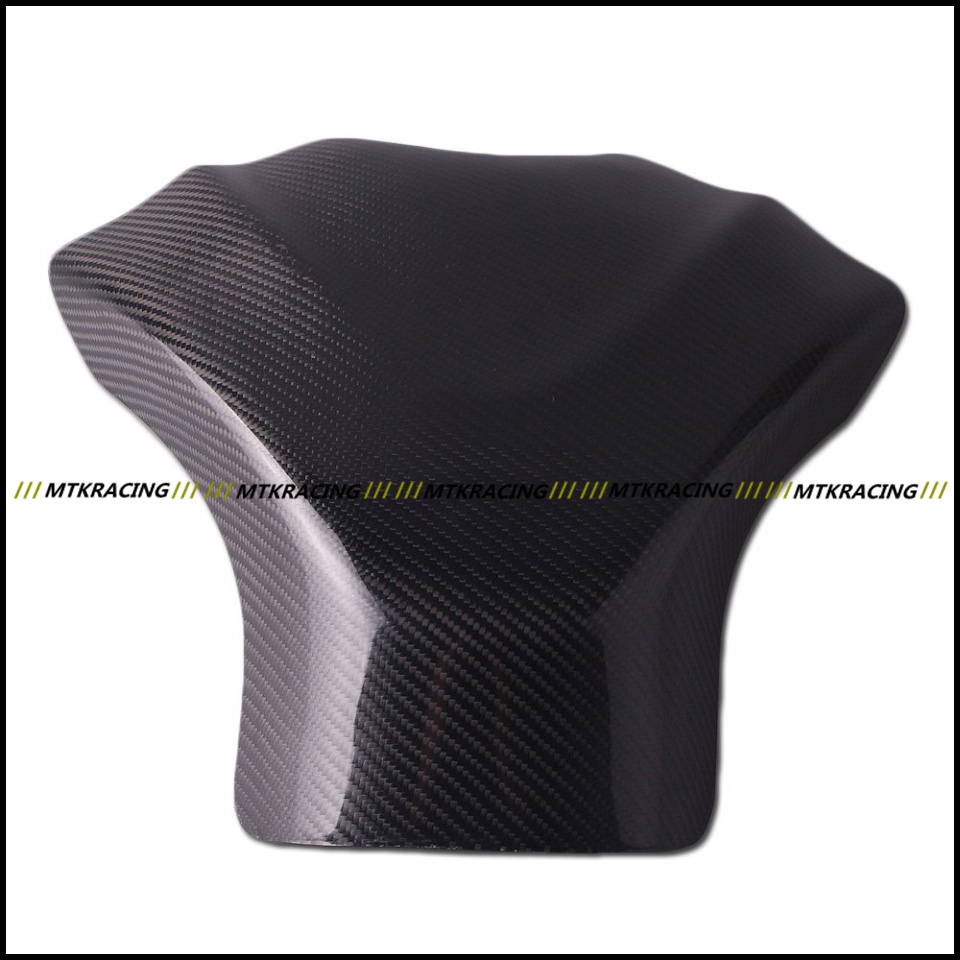 Free shipping Carbon Fiber Fuel Gas Tank Protector Pad Shield For SUZUKI GSXR1000 2009-2012 2009 2010 2011 2012 black color motorcycle accessories carbon fiber fuel gas tank protector pad shield rear carbon fiber for kawasaki z1000 03 06