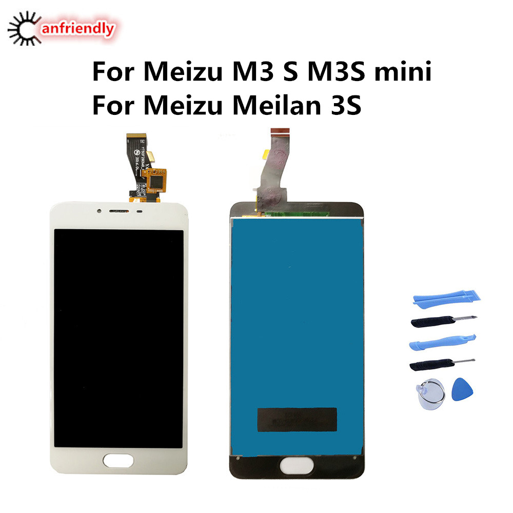 For <font><b>Meizu</b></font> <font><b>M3S</b></font> <font><b>mini</b></font> LCD <font><b>Display</b></font>+Touch Screen Digitizer Assembly Replacement Glass For <font><b>Meizu</b></font> Meilan 3s Y685C Y685Q Y685M Y685H image