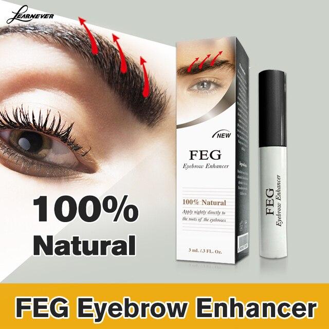 FEG 100% Original Rising Eyebrows Growth Serum Kareprost Eyebrows Enhancer Eyelash Growth Liquid Makeup Eyebrow Longer 2