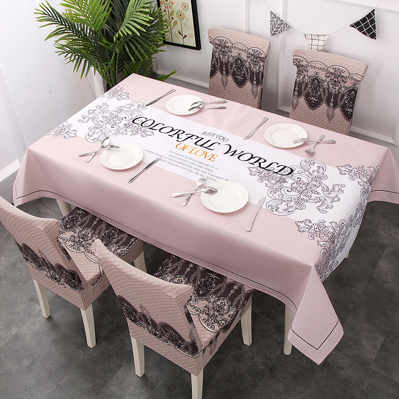 Dirty Kitchen Table: Shabby Chic Anti Dirty Table Cloth Dining Room Table Cover