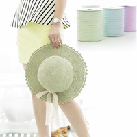 250Meters Yarn For Hand Knitting Threads Hat Summer Woman Fashion Beach Hat Bag Knitted Yarn
