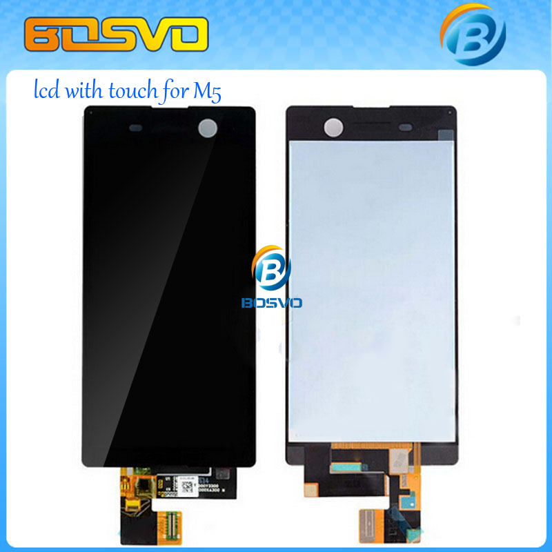 Подробнее о Wholesale Black and White LCD Screen Display and Touch Screen Digitizer assembly For Sony for Xperia M5 Free DHL EMS Shipping wholesale black and white lcd screen display and touch screen digitizer assembly for sony for xperia m5 free dhl ems shipping