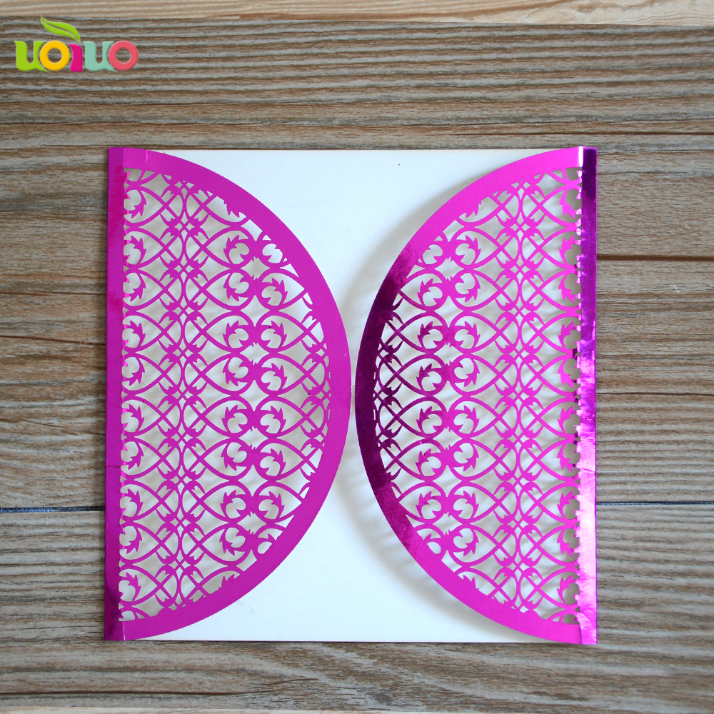 Factory direct wedding supplies wedding invitation Chinese Double ...