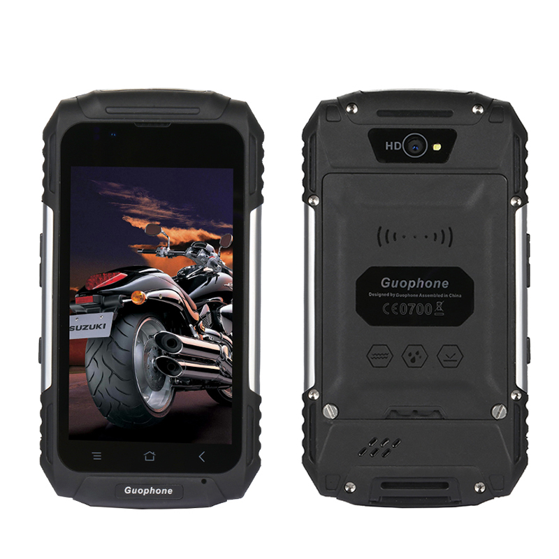 Guophone Outdoor Waterproof Rugged Smartphone Dual Sim MTK6580 Quad Core 1G 8G 4 Inch IPS Display
