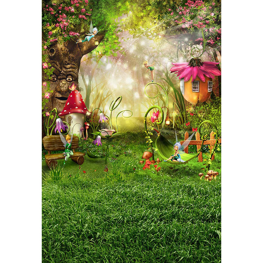 Vinyl Photography Backdrops Fairytale Wonderland Enchanted